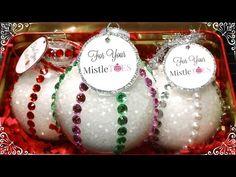 HoliDIY Gift Idea: Foot Soak Filled Ornaments! - YouTube
