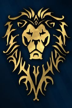 Скачать обои symbol, Warcraft the Movie, game, wild animal, king of beasts, king, Warcraft, movie, blue, World of WarCraft, humans, animal, mmorpg, cinema, film, wow, раздел фильмы в разрешении 640x960