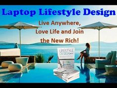 Laptop Lifestyle Design Online Marketing Training Tips, Profit FROM Para...
