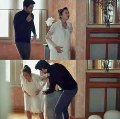 Kara Sevda Flashback Deniz's birth <3