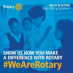 August is Membership Month at #Rotary. Learn about what you can do to get involved. Read more at: www.rotary.org/.... #WeAreRotary