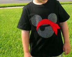 Pirate Mickey Tshirt