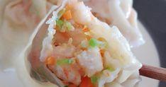 Cours et recettes de la cuisine chinoise traditionnelle de différentes régions de la Chine. Wontons, Mets, Dumplings, Chinese Food, Foods, Cooking, Cooking Food, Asian Cuisine, Chinese Recipes