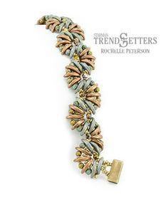 English Crescent Bracelet   Bead Index > Patterns