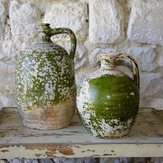 Stunning antique French pottery - wonderful decorative statement pieces. Sourced at www.thelambshed.co.uk