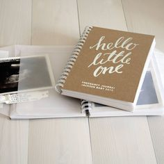 Personalised New Baby Memory Wallet Book