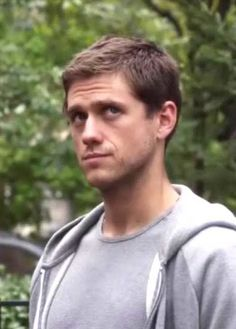 Aaron Tveit  on my favorite show Law and Order SVU. Life doesn't get much better.