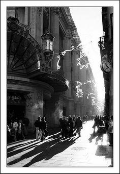 Barcelona - shopping time, Portal de l'Angel, Barcelona, Catalonia