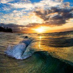 Last night at sunset. #hawaii #aloha #paradise #clarklittle  by clarklittle