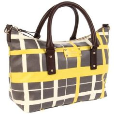 Kate Spade New York Checkmate Small Riley Satchel,Firefly/Midnight