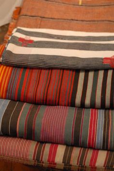 african stripe cloths #AfricanTextile #Stripes