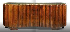 Maurice Dufrene Documented Exceptional Buffet In Carved Mahogany image 2