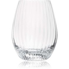 Saint-Louis Twist Water Goblet (1.665.750 IDR) ❤ liked on Polyvore featuring home, kitchen & dining, drinkware, no color, crystal drinkware and crystal water goblets