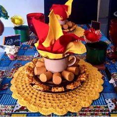 Festa Infantil /Fabiola Teles/ (@encontrandoideias) • Fotos e vídeos do Instagram Birthday Candles, Birthday Cake, Happy June, Holidays And Events, Ale, Diy And Crafts, Wedding Decorations, Party, Kids
