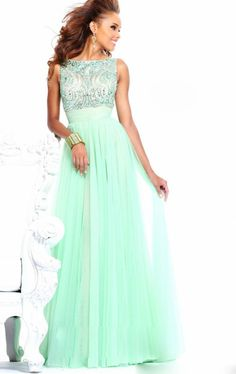 Find More Prom Dresses Information about Free Shipping 2014 Mint Prom Dresses  Long  Chiff New Densign Under 100 Custom Made Party dresses open back with bow,High Quality dress patterns prom dresses,China party dress fashion Suppliers, Cheap dress 2013 from promgirl on Aliexpress.com