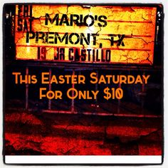 Gearing up to play Mario's this Saturday night! Bring it, Premont!!! #MariosPremont #jrcastillo