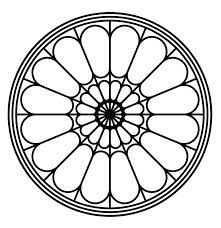 cathedral windows design - Google Search