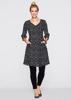 Kleid mit 3/4-Arm, bpc bonprix collection
