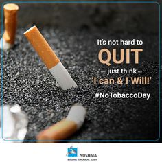 It's easier when you start believing in yourself! Say No To ‪#‎Tobacco‬ & Live A ‪#‎Healthy‬ & ‪#‎Happy‬ ‪#‎Life‬ With Your Loved Ones.  ‪#‎NoTobaccoDay‬- 31 May, 2016 ‪#‎HealthyLife‬ ‪#‎Sushma‬ ‪#‎NoSmoking‬ ‪#‎WorldNoTobaccoDay‬