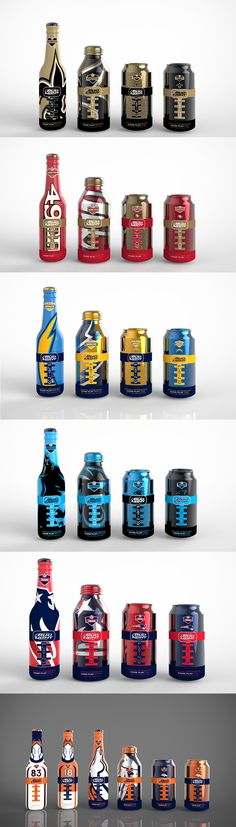 Wow, look at this sports #energy #packaging collection PD