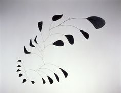 "Alexander Calder Vertical Foliage, 1941 Calder Foundation American artist Alexander Calder changed the course of modern art by developing an innovative method of sculpting, bending, and twisting wire to create three-dimensional ""drawings in space."""