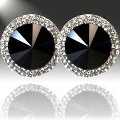 Ella & Co. Boutique http://www.facebook.com/ellaandco?ref=stream ♥Restock: black crystal earrings♥