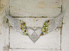 Angel Wing Decor Angel Wing Wall Decor by ColorfulCastAndCrew