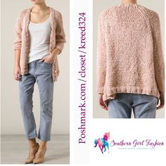 """MES DEMOISELLES Paris Cardigan Enora Sweater Top Size Euro 1, US Small.  New With Tags $478.00  Color: """"Powder Pink""""  Knitted cardigan from Mes Demoiselles featuring deep V neck,  long sleeves and a front button fastening.  100% Polyester.  Measurements:  Bust: 36"""" Waist: 28"""" Hips: 38"""" Length: 29.5"""" Sleeve: 25.6""""    ❗️ Please - no trades, PP, holds, or Modeling.   ✔️ Reasonable offers considered when submitted using the blue """"offer"""" button.    Bundle 2+ items for a 20% discount!    Stop by…"""