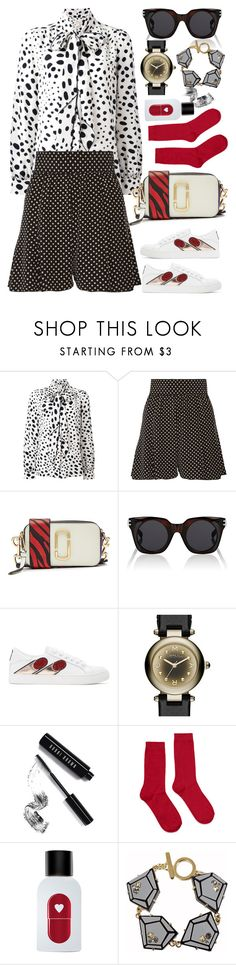 """""""Marc jacobs"""" by thestyleartisan ❤ liked on Polyvore featuring Marc Jacobs, Bobbi Brown Cosmetics, Forever 21, The Fragrance Kitchen and Marc by Marc Jacobs"""
