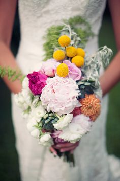 eclectic bouquet mix from ChiveEvents.com // photo by Clayton Austin