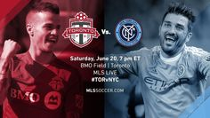 SPORTS And More: #MLS #WFAN #Toronto vs #NYCFC  7pm in #Toronto