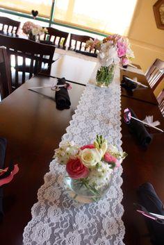 "Photo 2 of 23: Blushing Bride / Bridal/Wedding Shower ""Claribel's Bridal Shower"" | Catch My Party"