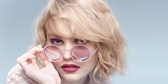 Daughter of Vanessa Paradis and Johnny Depp, Lily-Rose Depp, lands her first major campaign at the age of Chanel has named her as an ambassador for its fall-winter 2015 pearl eyewear advertisements. Photographed by Karl Lagerfeld, Lily Rose Melody Depp, Chanel Pearls, Chanel News, Chanel 2015, Louis Garrel, Karl Lagerfeld, Lily Rose Depp Chanel, Johnny Depp's Daughter, Sunglasses