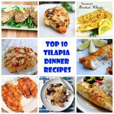 Top 10 Tilapia Dinner Recipes