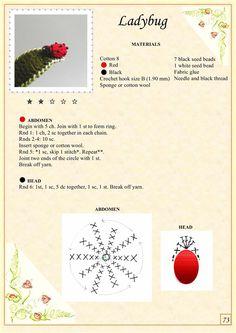 Мобильный LiveInternet Альбом «The Book of Crochet Flowers Crochet Puff Flower, Crochet Flower Tutorial, Crochet Flower Patterns, Crochet Motif, Crochet Flowers, Diy Flowers, Knit Crochet, Crochet Ladybug, Crochet Cactus