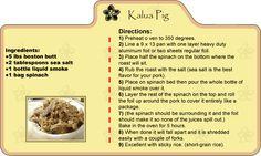 Hawaiian Recipes - lomi lomi salmon, ahi poke, kalua pig, mochiko chicken, and potato mac salad Hawaiian Dishes, Hawaiian Recipes, Asian Recipes, Ethnic Recipes, Cat Recipes, Yummy Recipes, Kalua Pig Recipe, Mochiko Chicken