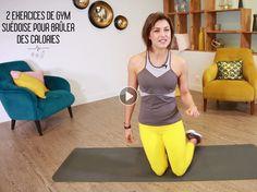 Pour muscler ses abdos et ses fessiers on s'inspire de la gym suédoise, avec ces deux exercices faciles à réaliser à la maison. Julie Ferrez nous donne...