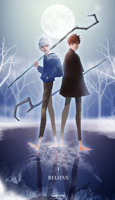 Jack Frost  Jackson Overland. Same person just Jack Frost is immortal and Jackson Overland is Jack when he was mortal.