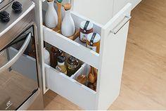 Cuisines Design, Design Moderne, Home Kitchens, Shoe Rack, Organization, Mini Bars, House, Vertical, Organizers