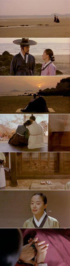Korea Movie 'Untold Scandal', 2003 __ Bae Yong-Jun & Jeon Do-yeon