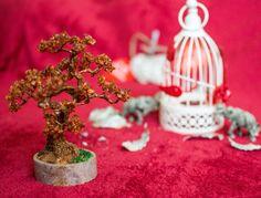 Baltic amber bonsai