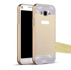 EBEST Luxury 3D Handmade Bling Anti-scratch Acrylic PC Back Cover Case and Metal Bumper Frame for Samsung Galaxy Core Prime SM-G3606 SM-G3609, Gold with Bling Ebest http://www.amazon.com/dp/B014XS17LA/ref=cm_sw_r_pi_dp_1mPqwb08K4738