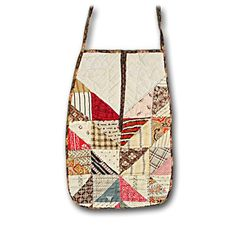 Quilted apron for a doll, perhaps?