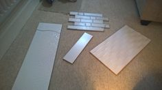 50.) Bolstered by the arrival of several thousand tile & floor samples (seriously, I went a bit nuts!)...