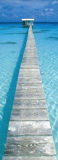 Dock in Tahiti