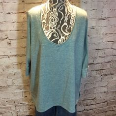 """SZ LG ALTAR'D STATE SOFT DOLMAN SLEEVE KNIT TOP Super soft and comfy knit top in gently used condition. Dohlman sleeves Armpit to armpit 27"""" Length 27"""" Altar'd State Tops"""