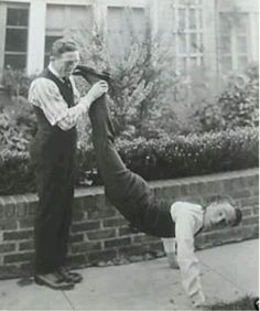 Charlie with the boxer Ted kid Lewis