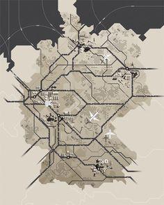 Germany Map — Designspiration
