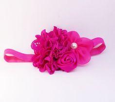 Retrouvez cet article dans ma boutique Etsy https://www.etsy.com/ca-fr/listing/263066378/bandeau-fushia-de-la-st-valentin-bandeau