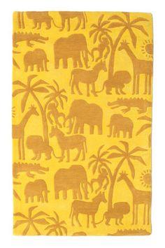 Africa Handtufted matta 100x160
